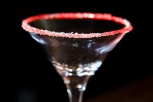 candy cane martini easy holiday recipe