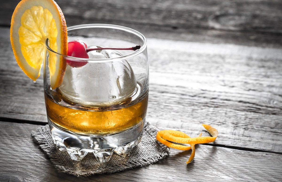 old-fashioned recipe from Raising the Bar Liquors