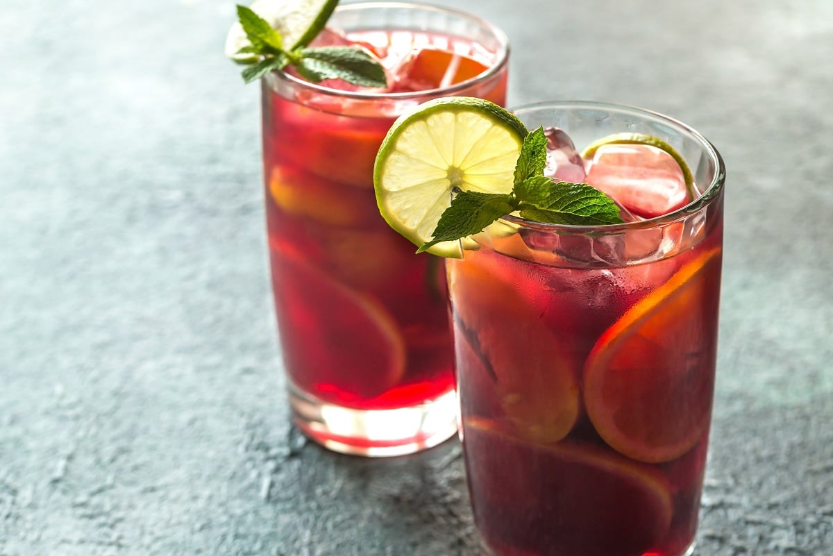 sangria recipes for valentine's day